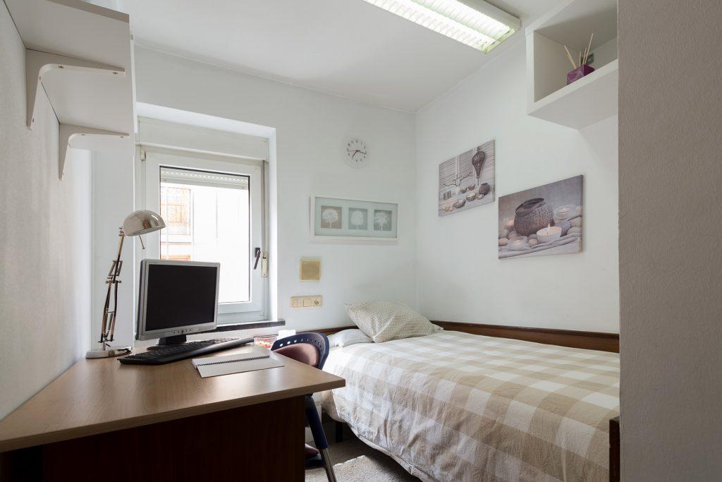 Habitación Estandar Residencia Universitaria en Salamanca