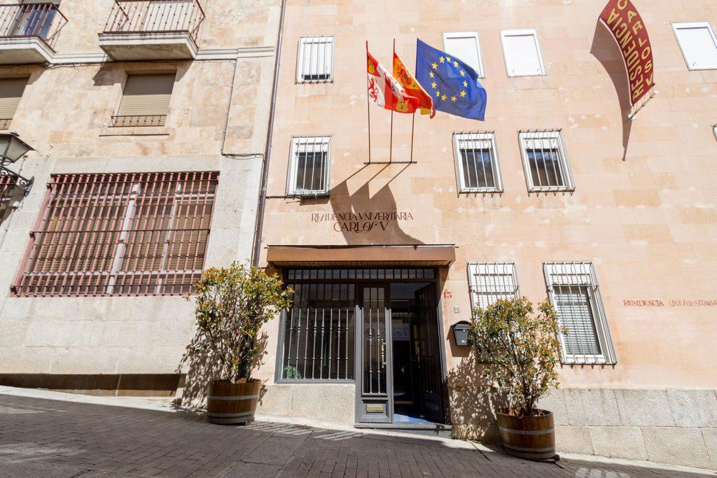 Exterior Residencia Universitaria en Salamanca Carlos V