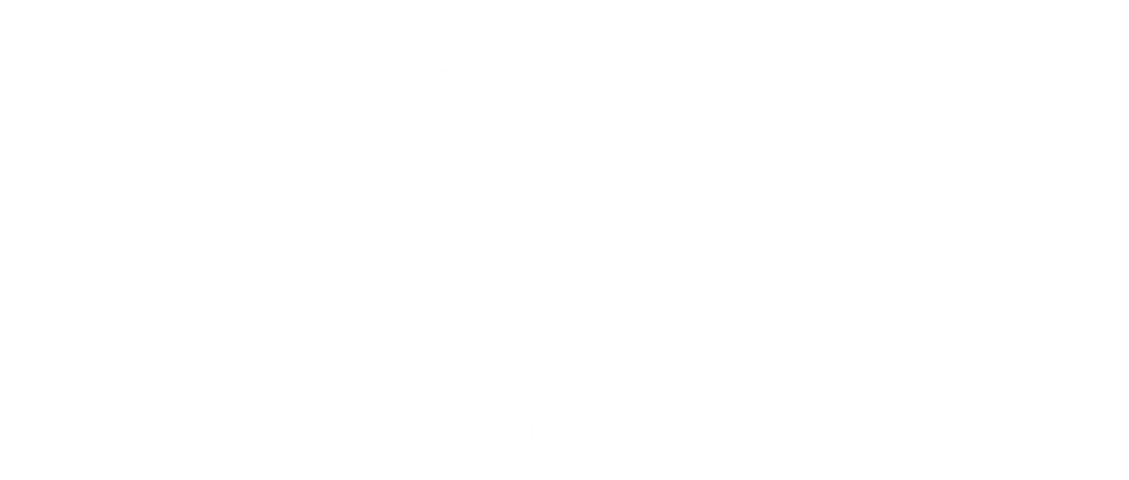 Logotipo Colegio Mayor Felipe II en Valladolid