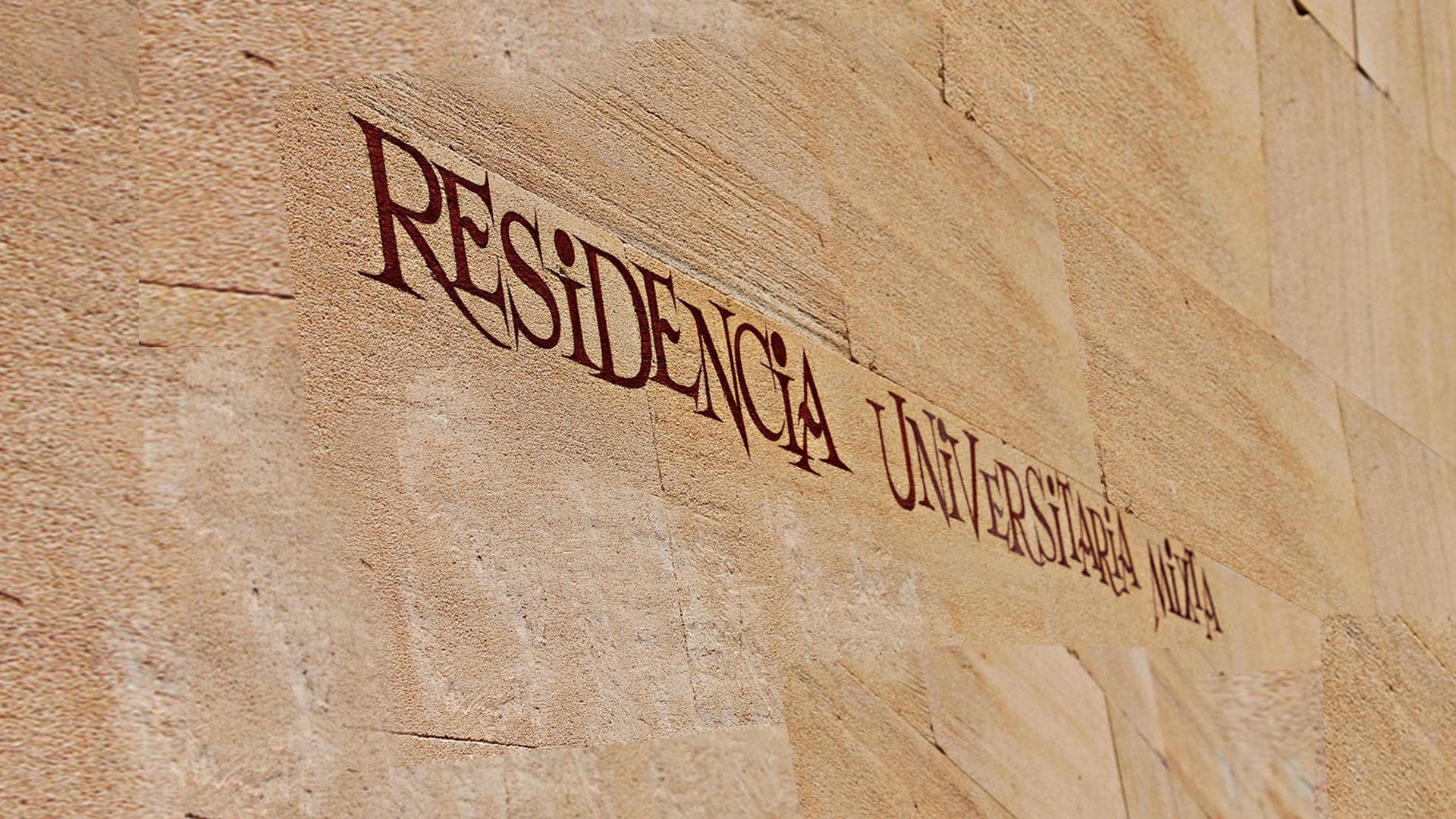 Fachada Residencia Universitaria en Salamanca Carlos V